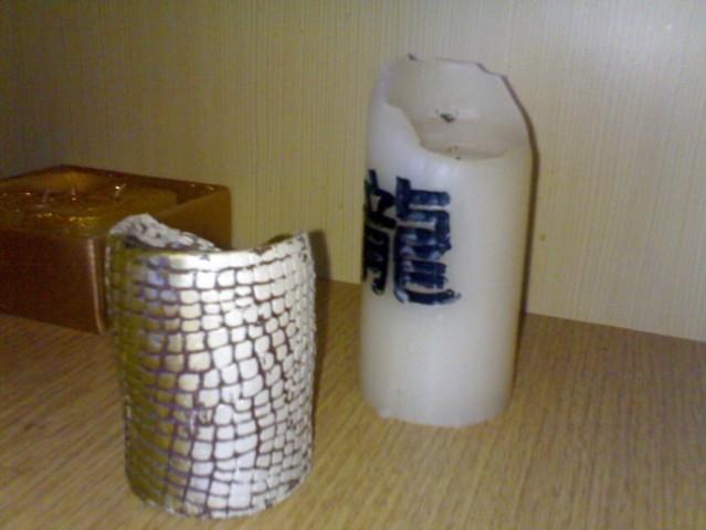 Svečniki in sveče - foto
