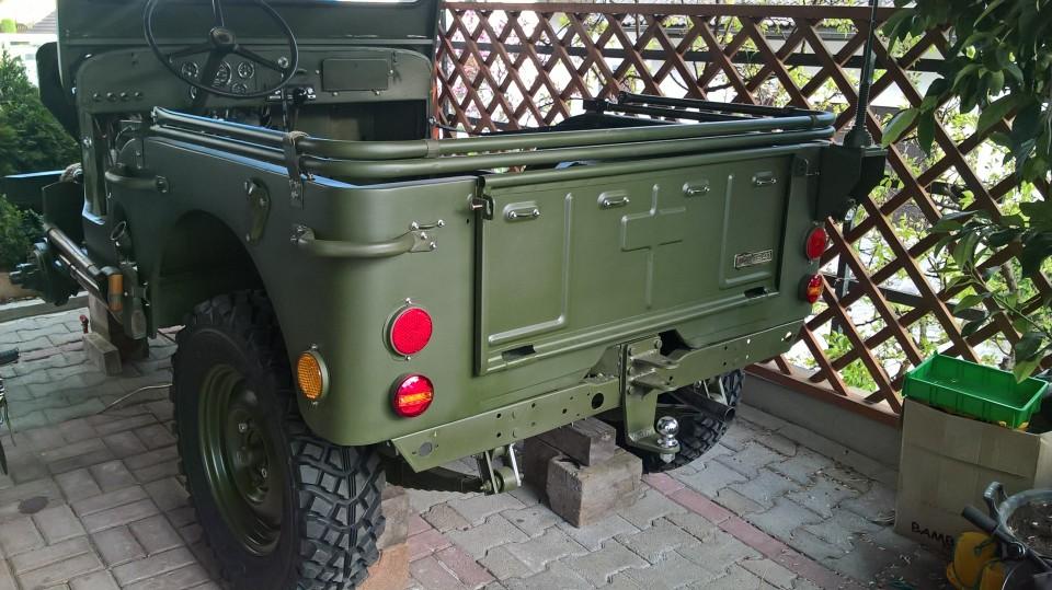 Jeep Kaiser - foto povečava