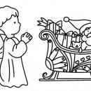 Božične predloge za slikanje na steklo