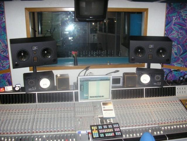 Fotke s snemanja bobnov - foto