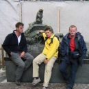 Bloška naveza: Frenk, Erik in Tone
