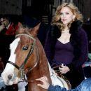 Madonna po okrevanju - po padcu s konja