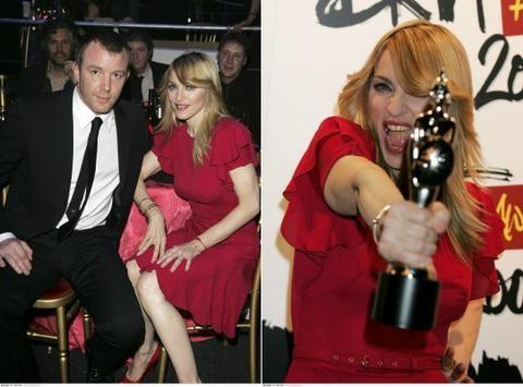 Madonna in Guy na podelitvi Music Awards nagrad