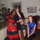 Anna-Lisa, Lukas, as the pirate, and Jasmina:)