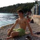 Stefan on the beach