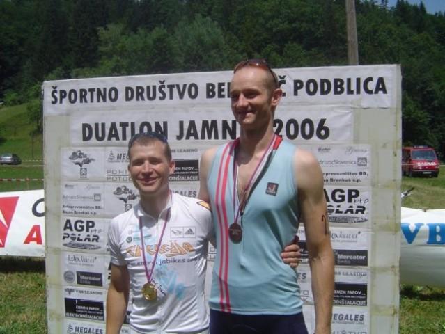 Duatlon Besnica Jamnik 2006