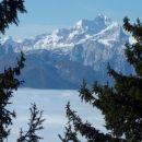 Nad 1500 m pa jasno in takšni razgledi...