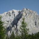 V dolini, pogled na osvojen vrh
