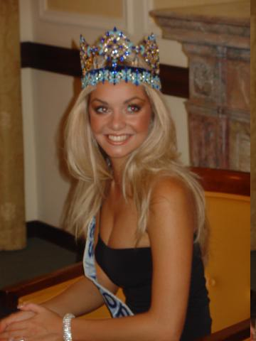 Tatana Kuchařová- Miss World 2006 2 - foto