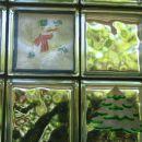 Lepljive barve za steklo in servietna tehnika
