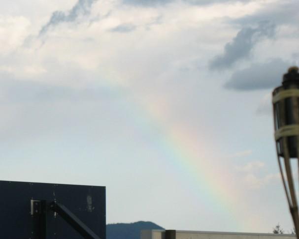 Magic rainbow. Waau.