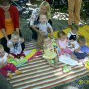 Živa, Anže, Kostja(stoji), Zarja, Kaja, Julija in Val