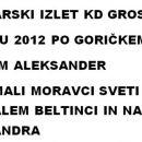 Goričko 4 dan Julij 2012