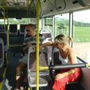 Povratek iz pokopališča z avtobusom