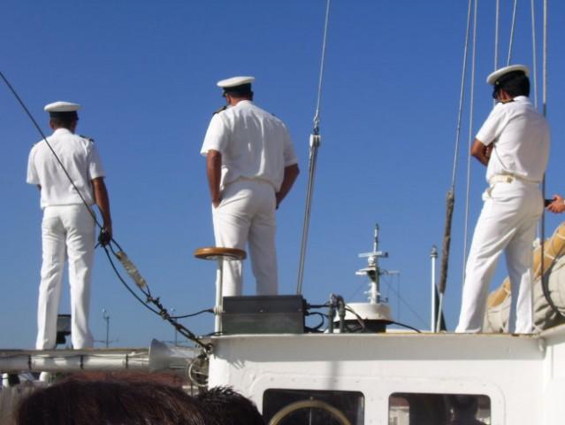 Zadky v uniformách