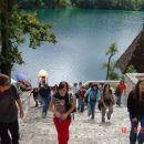 gremo do cerkvice na Bledu ...