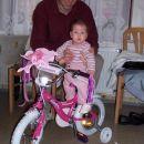 Moj bicikl (darilo od botrov). A ni frajerski?