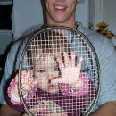 A grem lahko s tabo na badminton?