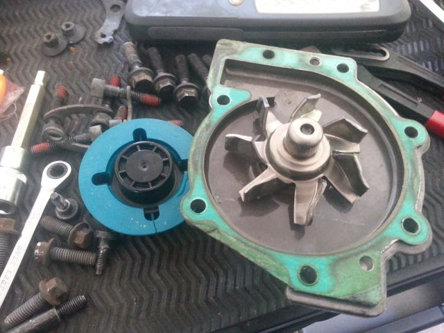 Replace The Water Pump At 110000 Mi