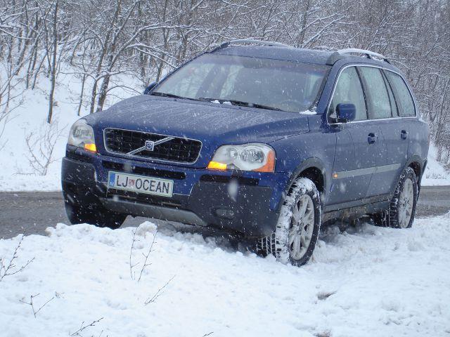 Volvo xc90 snow performance