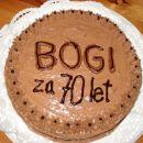 Orehova dunajska torta za mamino prijateljico