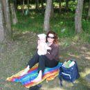 ...z mamico na Bukovniškem jezeru...