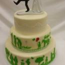 Porocna, krstna torta