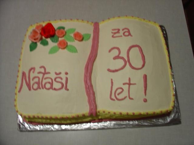 Torta odprta knjiga za ženske!