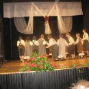 začeli pa so jo otroci iz Folklorne skupine OŠ Antona Žnideršiča