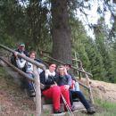 Stopnice sredi Pohorja? (spomenik borcem II. svetovne vojne)