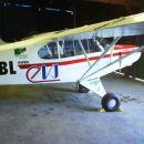 Letalo Aerokluba Zagorje, s katerega so posnete fotografije