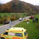 Pogled na reševalni ekipi