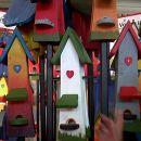 lesene ptičje hiške