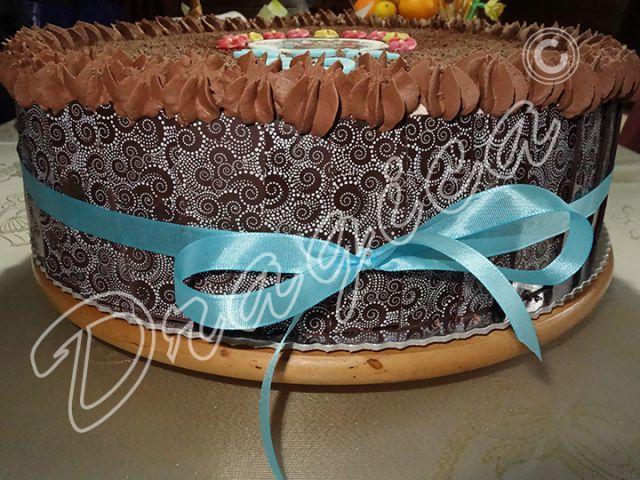 Smetana, čokolada - foto