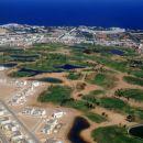 Golf igrišča v Sharmu - iz letala