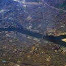 Cairo in reka Nil - iz letala