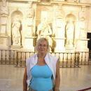 Michelangelov kip Mojzesa, pa jaz malo pošejkana, haha. Mož nima mirne roke :)