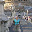 Jaz pred Castelo di Angelo