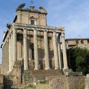 Tempelj na Foro Romano - rimski forum