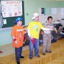 S sošolcema Nikom in Jušem med izvajanjem našega reperskega komada: