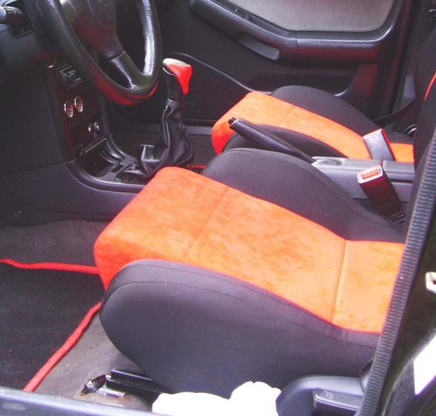 Mazda notranjost - foto