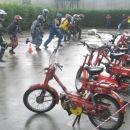 Štart v dežju