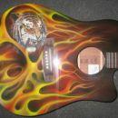 poslikava kitare, šeremet